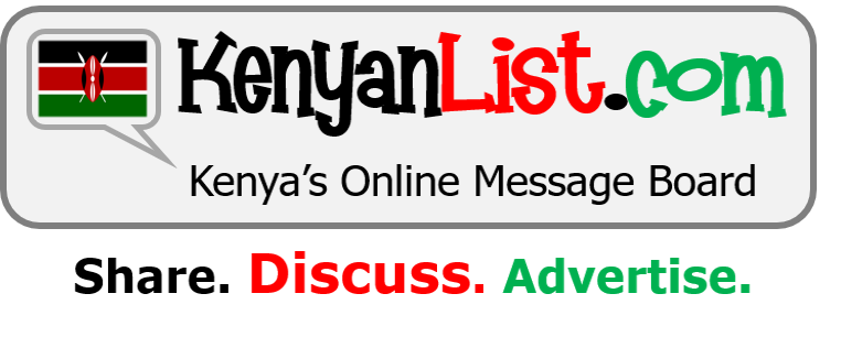 KenyanList.com | Share. Discuss. Advertise. Proudly Kenyan.